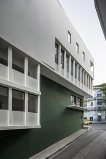 Sketch: restructuración de la casa La Moderna en Panamá