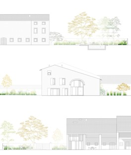 Studio Wok: restauración de una casa de campo en Chievo