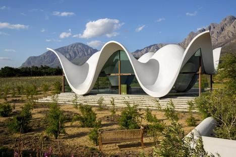 Bosjes Chapel por Steyn Studio