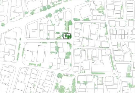 Akihisa Hirata: casa Overlap en Tokio