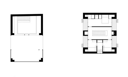 juri troy architects: nueva vivienda en una streckhof austriaca