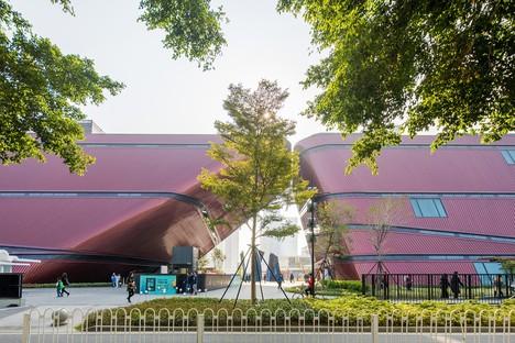 Centro Cultural Longgang de Mecanoo