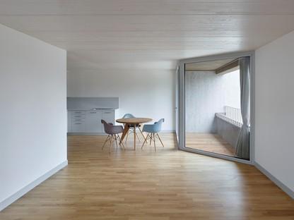2b architectes: Pisos para la tercera edad en Sugiez, Suiza