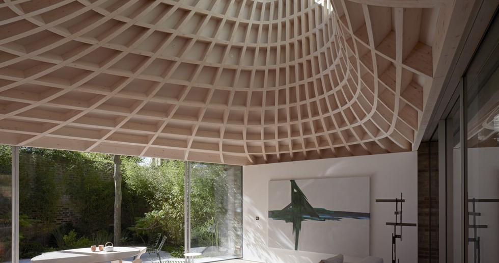 Gianni Botsford Architects: casa en un jardín en Londres