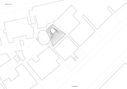 Gianni Botsford Architects: casa en un jardín en Londres