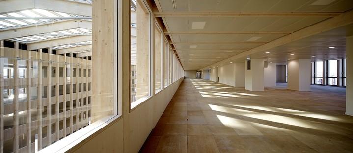 Pulse de BFV Architectes: una catedral de madera en Saint-Denis