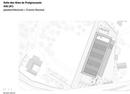 Ppa + Encore Heureux: Pratgraussals Events Hall en Albi<br />