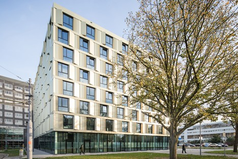 Mecanoo ha realizado la nueva residencia de estudiantes de la Erasmus Universiteit de Rotterdam