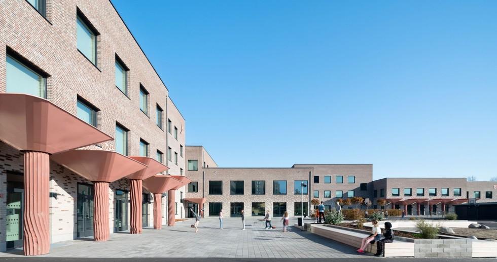 C.F. Møller: nueva Tiundaskolan en Uppsala