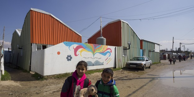 CatalyticAction: Escuela Jarahieh para niños sirios refugiados en Líbano
