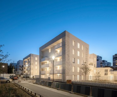 Viviendas en Ivry de Tectône Architectes