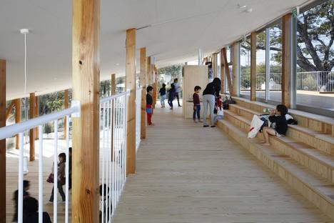 Kentaro Yamazaki: Hakusui Nursery School en Sakura, Japón