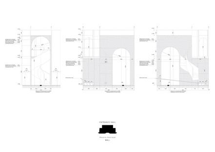 WALL Architectural Bureau para Rasario: no showroom sino
