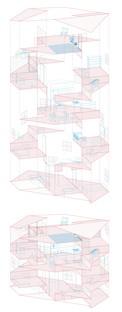 Tato Architects: Functional cave, casa en espiral en Takatsuki