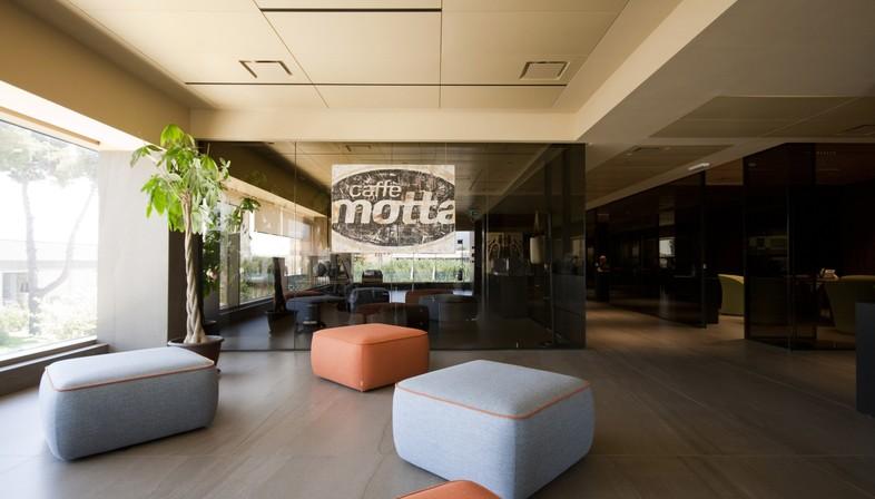 Entrevista a Diego Granese: oficinas de Caffè Motta en Salerno