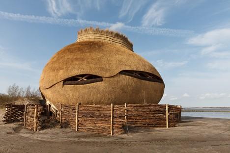 RO&AD + RAU: Observatorio Tij en la reserva de Scheelhoek, en Holanda