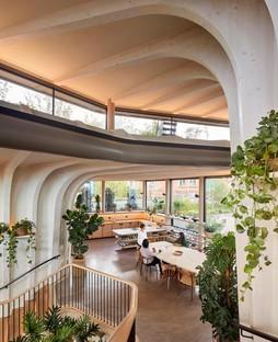 Heatherwick Studio ha realizado el nuevo Maggie's Centre en Leeds