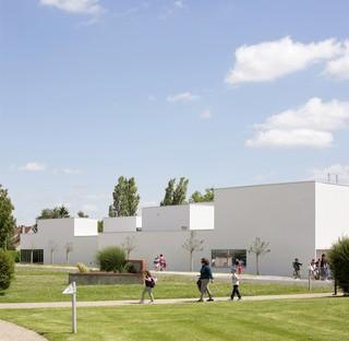 Dominique Coulon: Colegio Olympe de Gouges en Gidy, Francia