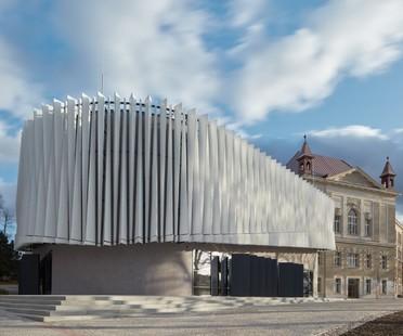 Qarta architektura: Auditórium de la Facultad Politécnica, Jihlava