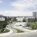 El nuevo White Building del Chengdu Science and Technology Industry Incubation Park lleva la firma de CROX Group