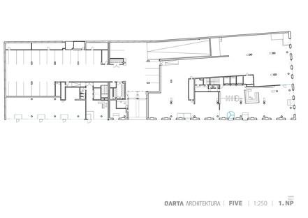 Qarta Architektura: Five, antiguo depósito de tranvías en Smíchov, Praga