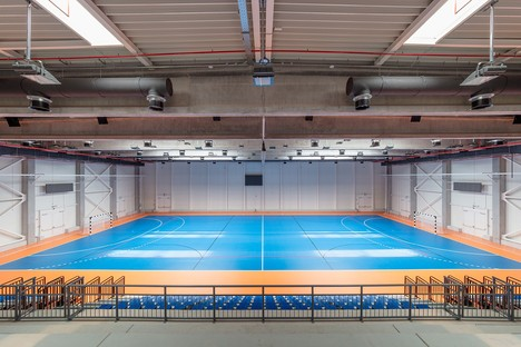 Hatvan Multifunctional Sports and Events Hall de Napur Architect