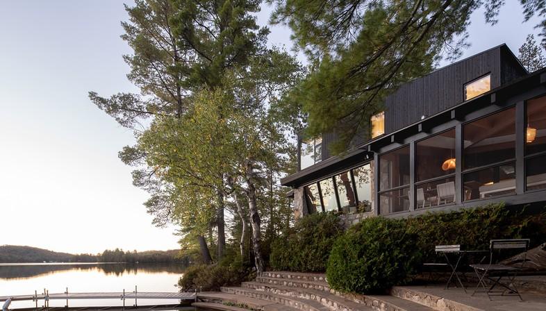 Cottage on the Point de Paul Bernier en Montreal, Canadá