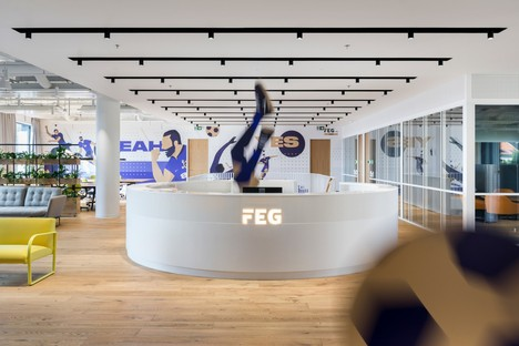 Perspektiv: Oficinas para FEG Fortuna Entertainment Group en Praga