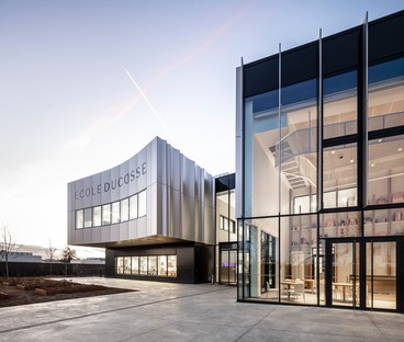 La sede parisina de École Ducasse lleva la firma de Arte Charpentier