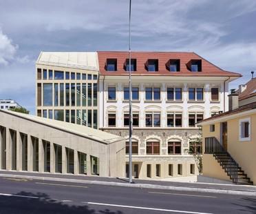 In_Out Cathrin Trebeljahr: Ampliación de la antigua prefectura de Versoix