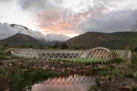 El Garden Cafe proyectado por Steyn Studio para Bosjes, Sudáfrica, junto con SquareOne, Meyers y Liam Mooney