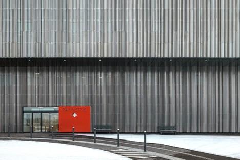 JKMM: Hospital Nova en Jyväskylä, ciudad de la salud