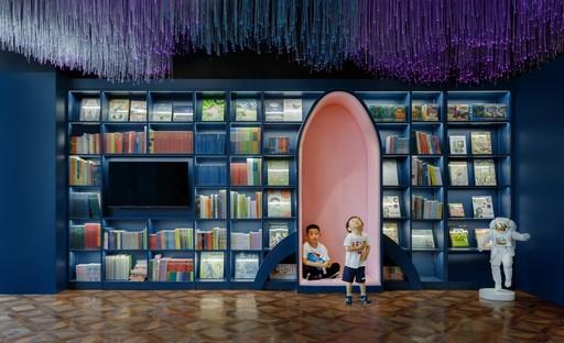 3andwich Design: Librería Viti Books, en Pekín