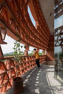 H&P Architects: Espacio Ngói en Hanoi, Vietnam
