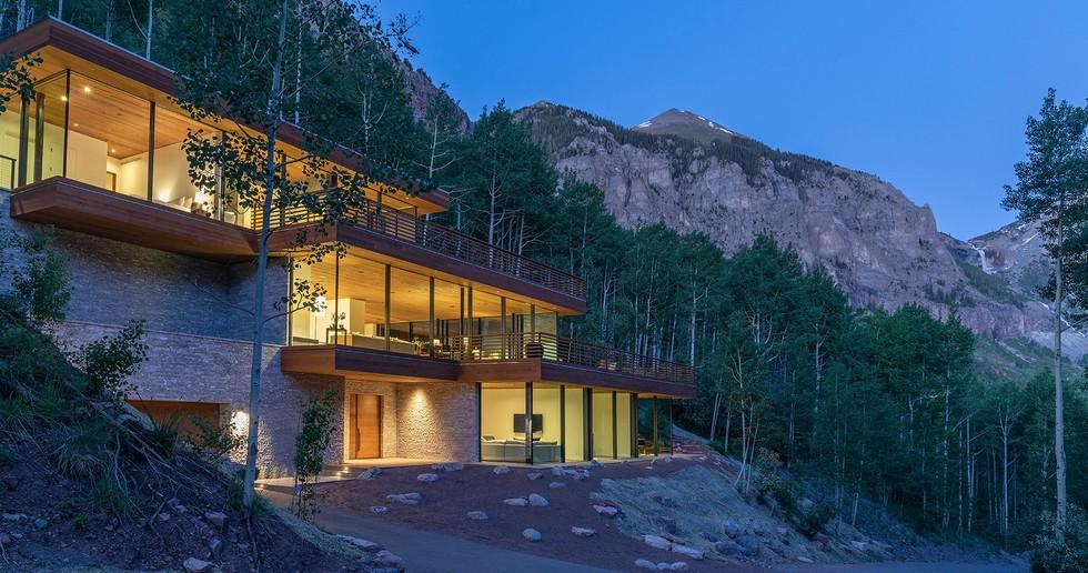 Telluride Glass House de Efficiency Lab for Architecture