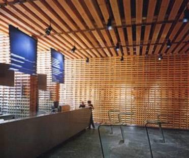 P. Zumthor Pabellón suizo en la Expo 2000 de Hannover