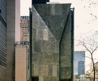 American Folk Art Museum, Tod Williams Billie Tsien & Associates, Nueva York, USA, 2001