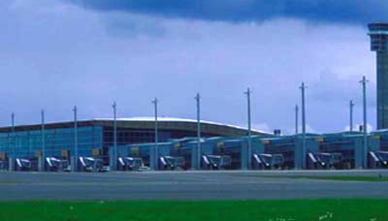 Aviaplan: aeropuerto de Gardermoen, Oslo, 1998