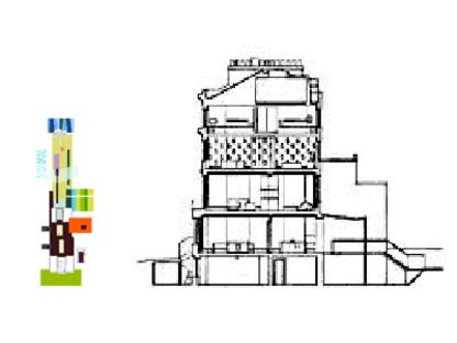 Sauerbruch Hutton Architects,<br> tres casas en Londres