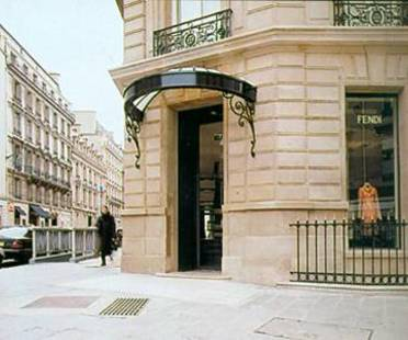 FENDI SHOP, Lazzarini & Pickering Architects,<br> París,  Francia, 2001