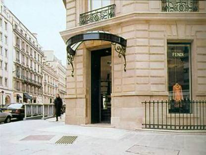 FENDI SHOP, Lazzarini & Pickering Architects,<br> París,  Francia, 2001