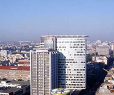 Sauerbruch - Hutton: Gsw Headquarters, Berlín, 1999