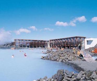 Vannustofa Arkitekta: Blue Lagoon, Grindavik, Islandia, 1999