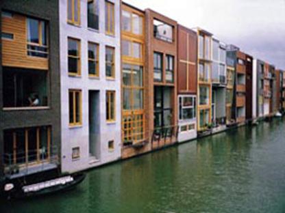 Adriaan Geuze de West 8: La ballena de Ámsterdam, 2001