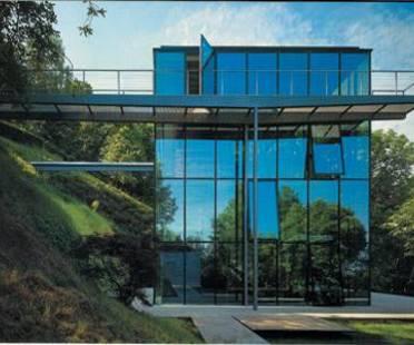 Werner Sobek: casa unifamiliar, Stuttgart, Alemania 2000