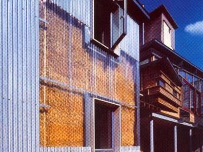 Sarah Wigglesworth y Jeremy Till<br> La casa de paja, Londres 2001