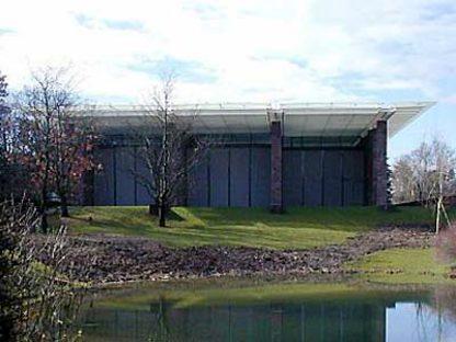 Museo de la Fundación Beyeler en Riehen, Basilea, 1991-1997. Renzo Piano