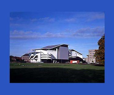 Teatro Chass&eacute; en Breda, Holanda,<br> 1992-1995. Herman Hertzberger