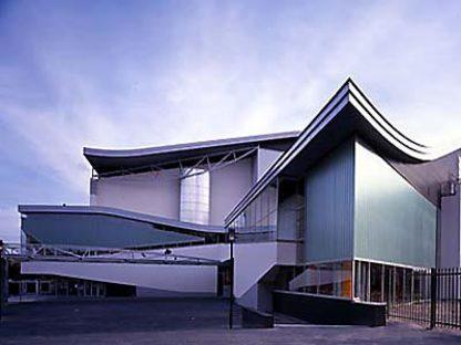 Teatro Chassé en Breda, Holanda,<br> 1992-1995. Herman Hertzberger