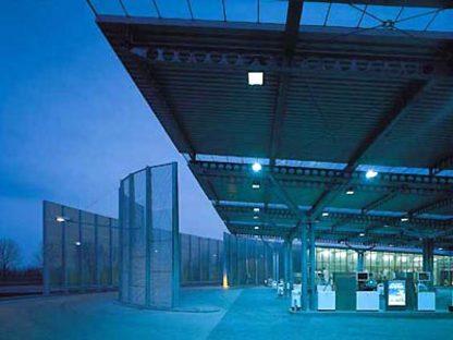 Samyn and Partners,<br> Estación de servicio de Houten, Holanda
